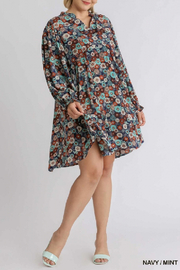 umgee  Off the Hook Dress Curvy - Front cropped