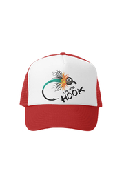 Grom Squad Off the Hook Trucker Hat - Front cropped