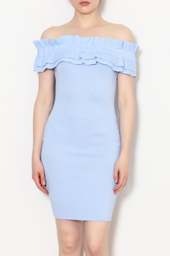Endless Rose Off The Shoulder Bodycon Dress - Product List Image