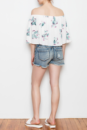 Buddy Love Off The Shoulder Cactus Top - Other