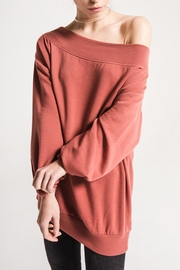 Others Follow  Off-The-Shoulder Comfy Sweater - Product Mini Image