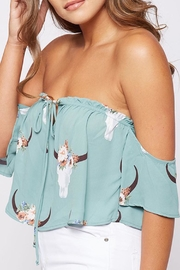 Wild Lilies Jewelry  Off-The-Shoulder Crop Top - Product Mini Image