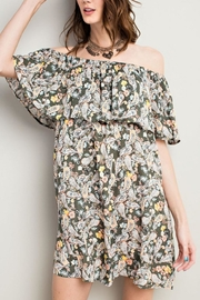 easel Off-The-Shoulder Dress - Product Mini Image