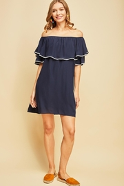Entro Off-The-Shoulder Dress - Product Mini Image