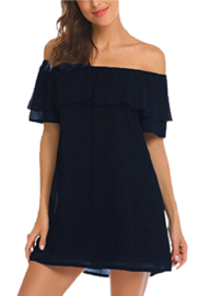 Petunias Off The Shoulder Dress - Product Mini Image