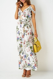 frontrow Off-The-Shoulder Maxi Dress - Product Mini Image