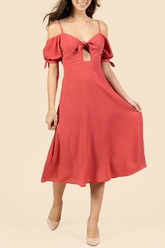 essue Off-The-Shoulder Midi Dress - Product List Image