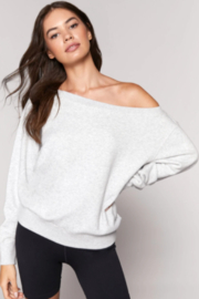 SPIRITUAL GANGSTER Off the Shoulder Pull Over - Product Mini Image