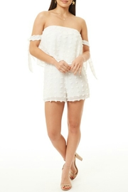 Dee Elly Off The Shoulder Romper - Product Mini Image