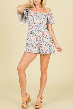 Shoptiques Product: Off-The-Shoulder Romper