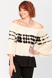 XCVI Off the Shoulder Ronan Top - Product Mini Image
