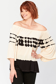 XCVI Off the Shoulder Ronan Top - Front cropped