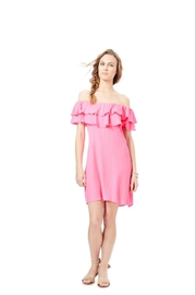 Julie Brown NYC Off the Shoulder Ruffle Dress - Product Mini Image
