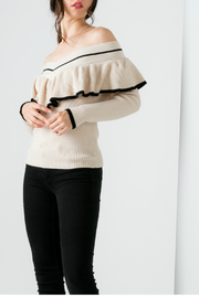 THML  Off the shoulder sweater - Product Mini Image