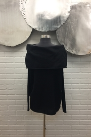 Planet Off The Shoulder Sweater - Front full body