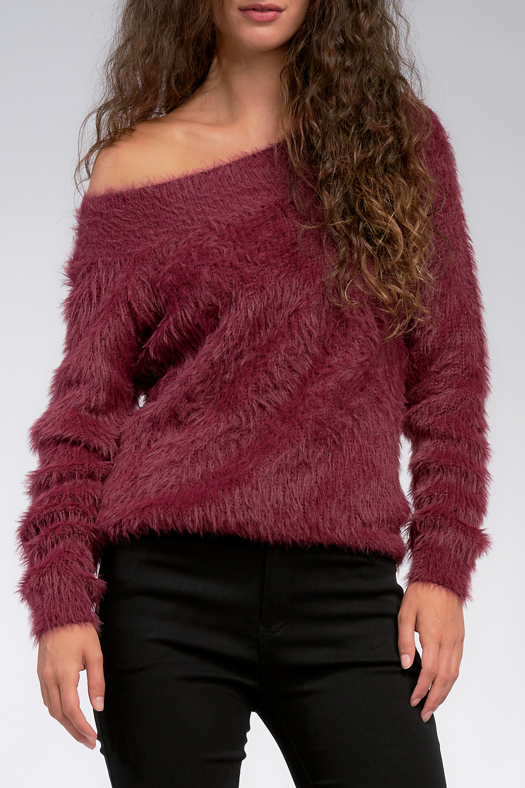 Elan  Off the Shoulder Sweater - Main Image