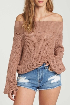 Shoptiques Product: Off-The-Shoulder Sweater