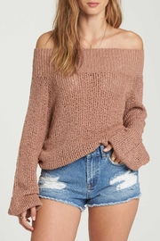 Billabong Off-The-Shoulder Sweater - Product Mini Image
