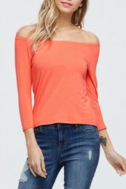 Jolie Off-The-Shoulder Tee - Product Mini Image