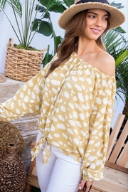 Main Strip Off The Shoulder Tie Front - Product Mini Image