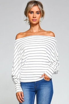 Solo La Fe  Off-The Shoulder Top - Product List Image