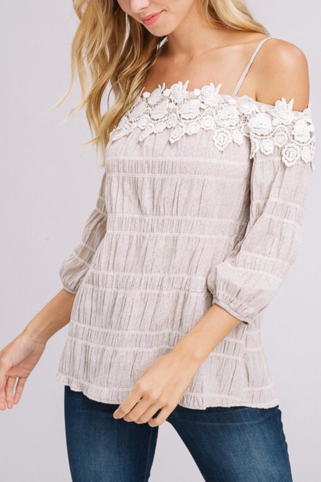 Gifted Off-The-Shoulder Top - Main Image