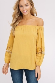 Listicle Off The Shoulder Top - Product Mini Image