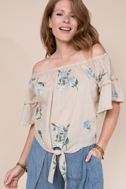 Ivy Jane Off The Shoulder Top - Product Mini Image