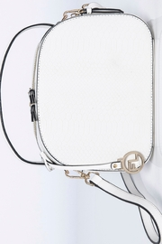 Frank Lyman Off White and Gold Hand Bag - Product Mini Image