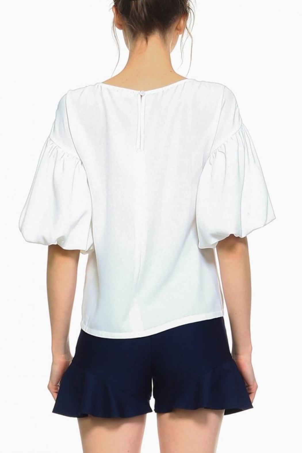 TCEC Off White Blouse - Main Image