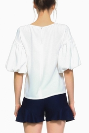 TCEC Off White Blouse - Front cropped