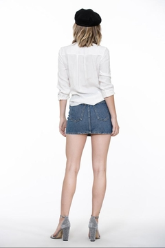 The Room Off-White Front-Tied Top - Alternate List Image