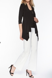 Frank Lyman Off White Knit Pant - Front cropped