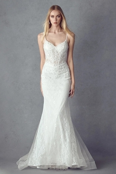 Juliet Off White Lace Mermaid Bridal Gown - Alternate List Image