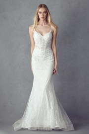 Juliet Off White Lace Mermaid Bridal Gown - Product Mini Image