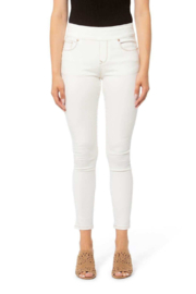 Lola Jeans Off White Pull On Jeans - Product Mini Image