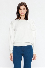 Jealous Tomato Off-White Pullover Sweater - Product Mini Image
