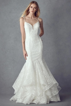 Juliet Off White Sequin Mermaid Bridal Gown - Alternate List Image