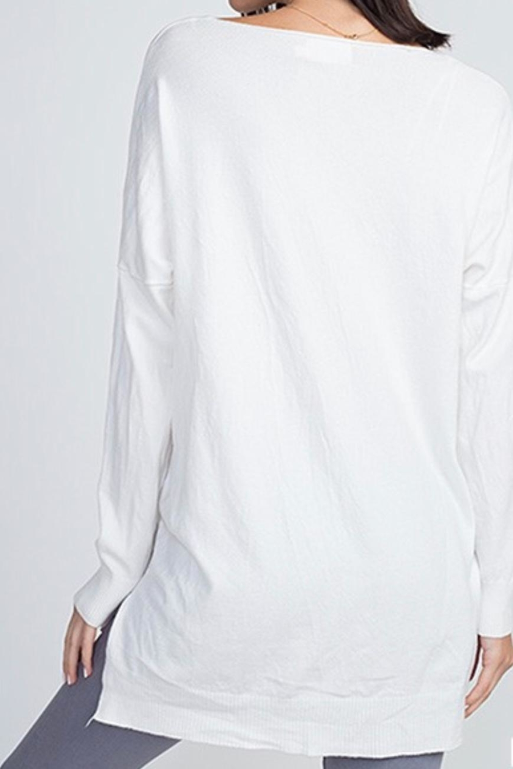 8c3fd5bf6 Dreamers Off-White Soft Sweater from Wisconsin by Apricot Lane ...