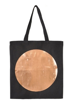 Off Duty NYC Metallic Circle Tote - Alternate List Image