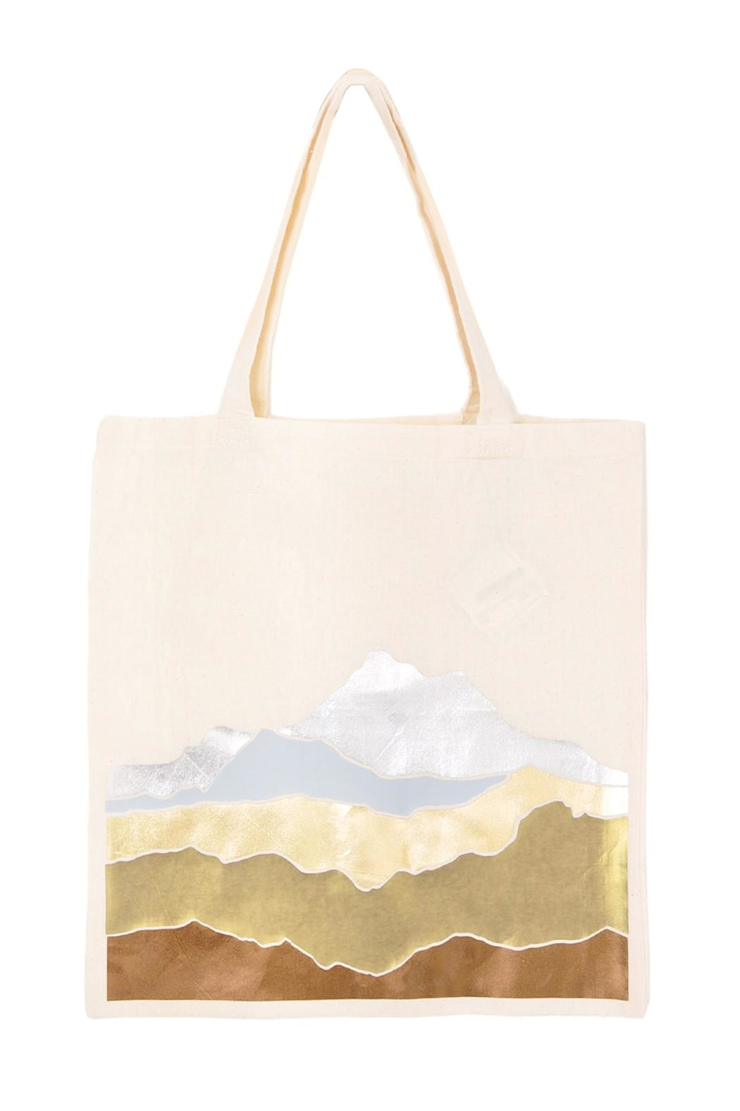 Off Duty NYC Metallic Mountains Tote - Main Image