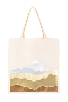 Off Duty NYC Metallic Mountains Tote - Alternate List Image