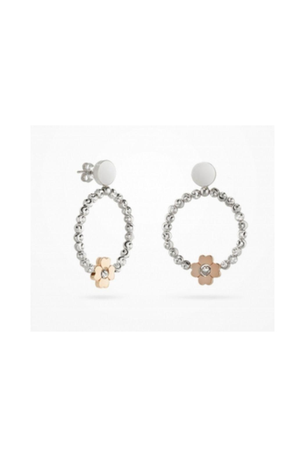 Officina Bernardi Cuori Flower Earrings - Main Image