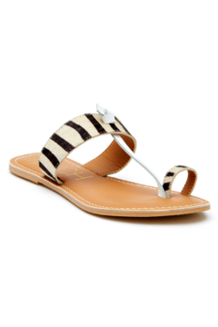 Matisse Offshore Zebra Thong Sandal - Product List Image