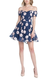 Ricarica Offshoulder Embroiderydress - Front cropped