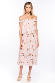 Olivia Pratt Offshoulder Floral Dress - Product Mini Image
