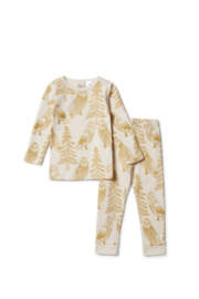 Wilson and Frenchy  Oganic Wild Monster L/S PJ Set - Product Mini Image