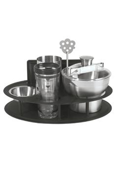 Shoptiques Product: Bar Set With Stand