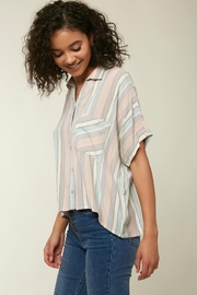 O'Neill Ogier Stripe Button Down - Back cropped