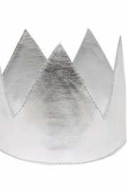 Oh Baby Metallic Crown - Front cropped